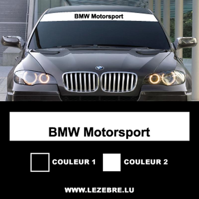 BMW Motorsport Sunstrip sticker