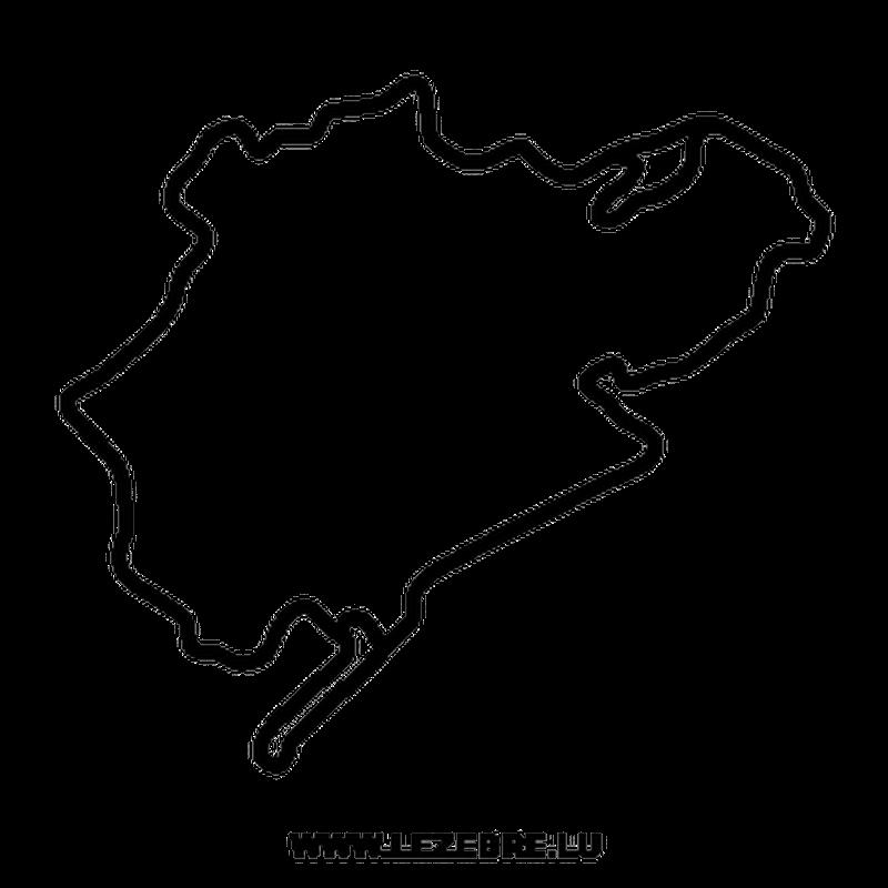 Nürburgring Circuit Decal 2