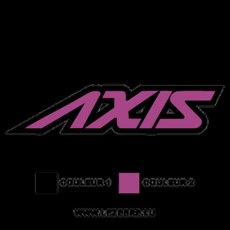 Yamaha Axis Decal