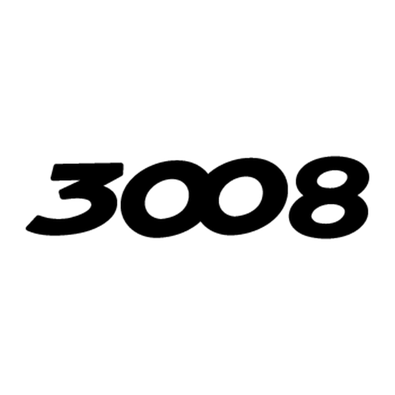 Peugeot 3008 Logo Decal