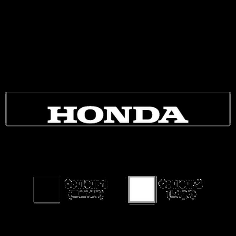 Sticker Bande Sonnenblende Honda