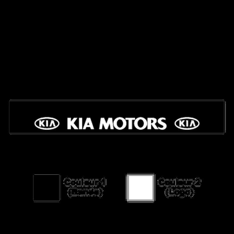 Kia Motors Sunstrip Sticker