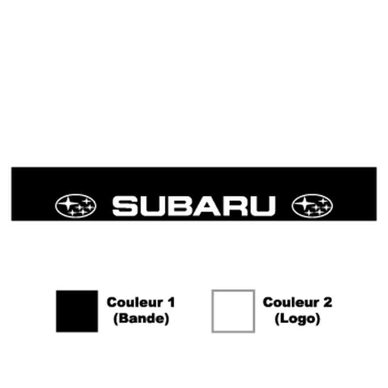 Subaru Sunstrip Sticker