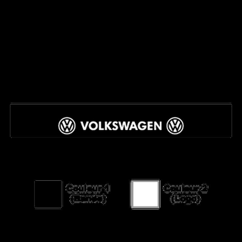 Sticker Bande Sonnenblende VW Volkswagen