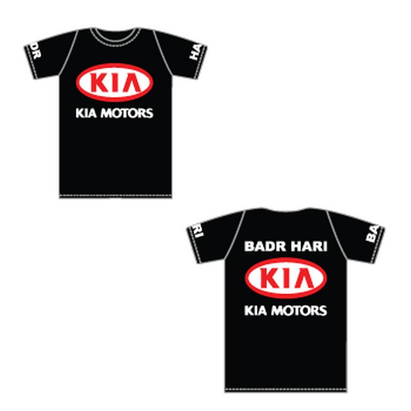 Badr Hari Kia Motors t-shirt