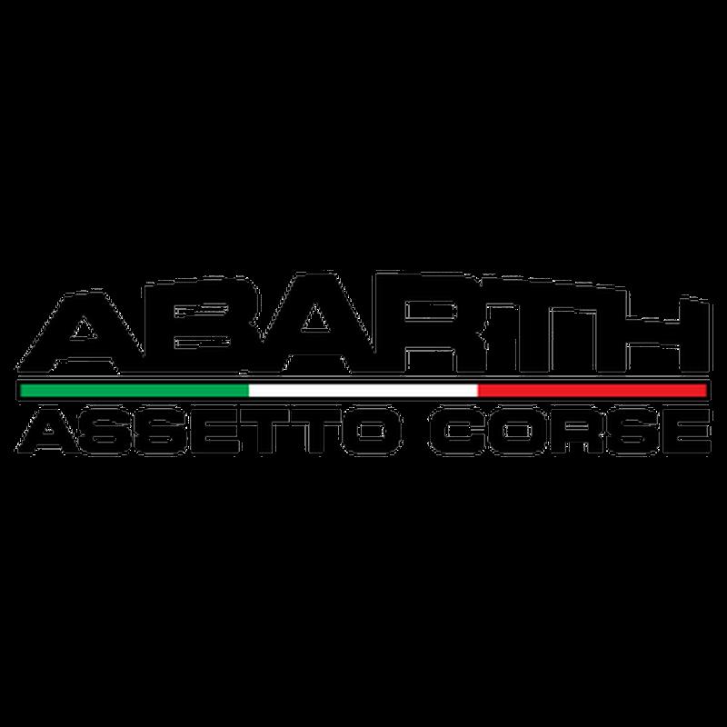 Sticker Fiat Abarth Assetto Corse Logo