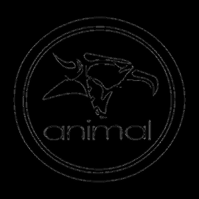 Animal BMX logo Decal
