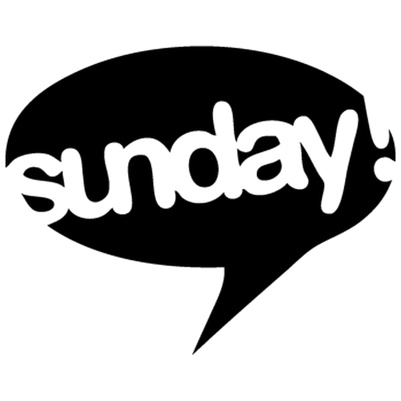 Sunday BMX logo Decal
