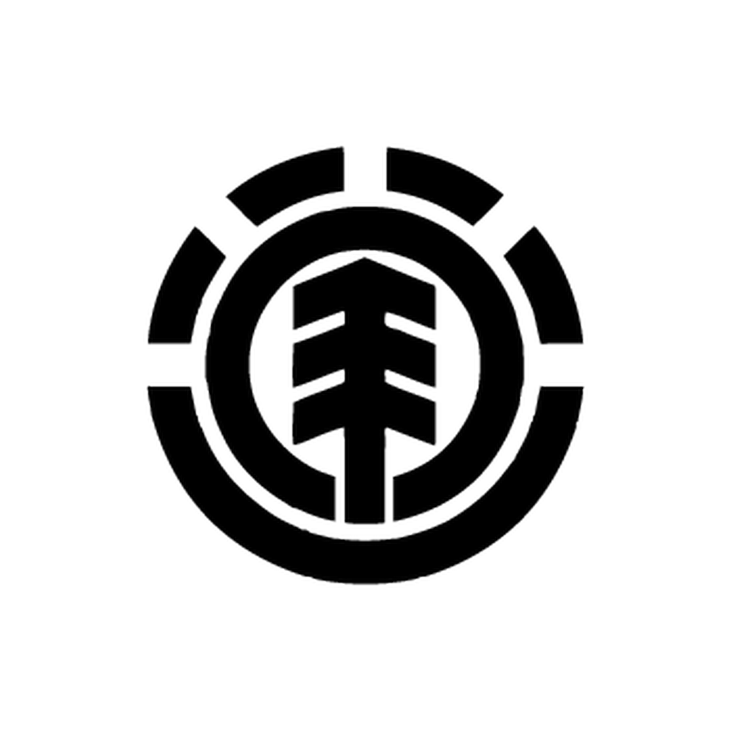 Sticker autocollant Element Skateboard logo
