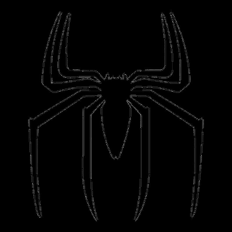 spiderman logo decal