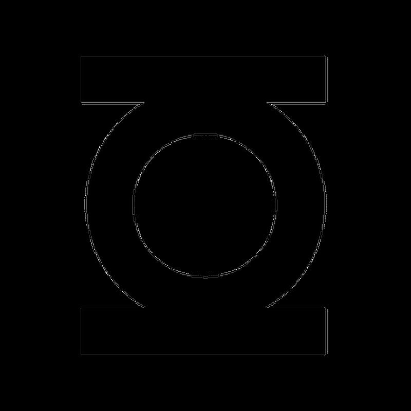 green lantern logo decal. Black Bedroom Furniture Sets. Home Design Ideas
