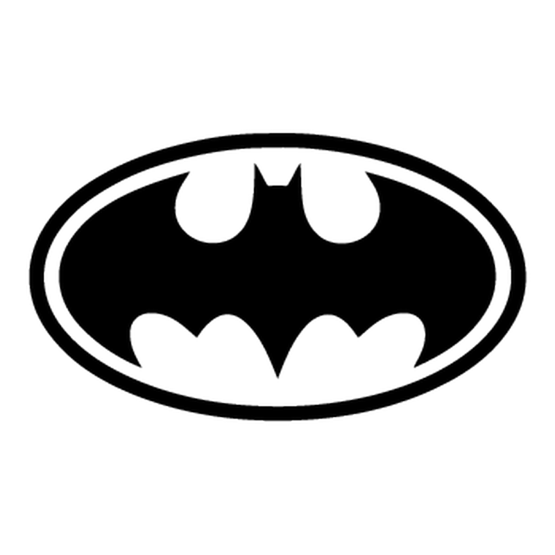 Batman logo Decal