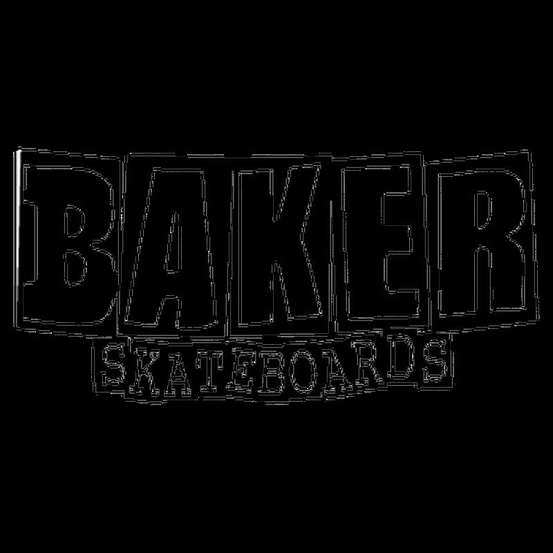 Backer Skateboard logo Decal