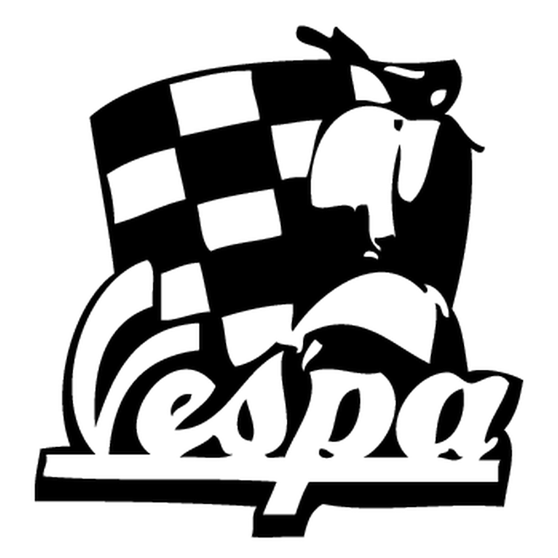 Vespa Logo Decal