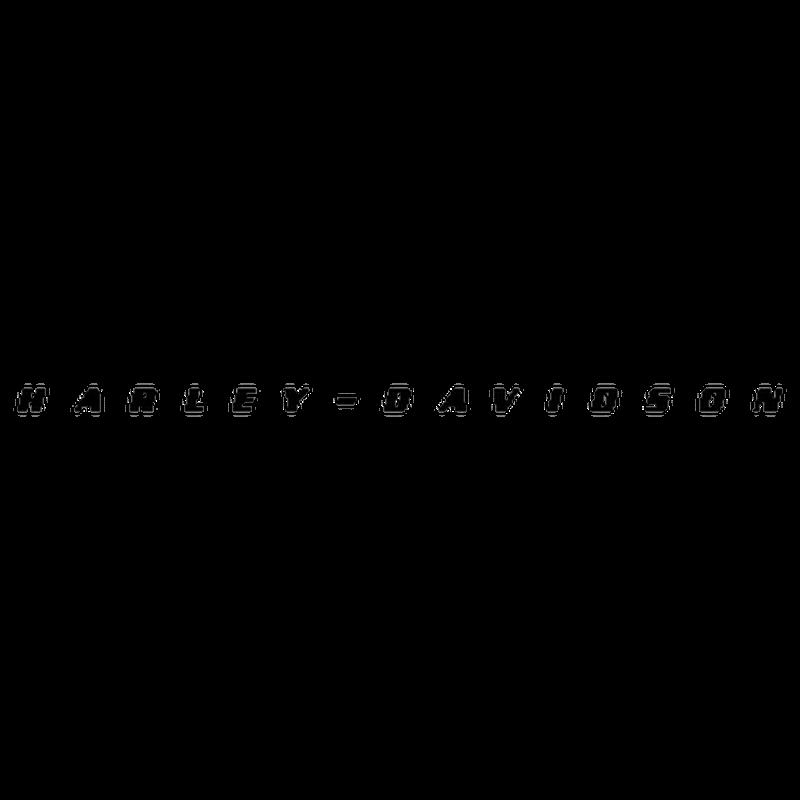 Sticker Moto Harley Davidson Logo Réservoir Essence ★