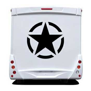 US ARMY STAR Camping Car Decal
