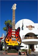 Sticker Deko Hard Rock Café à Hollywood