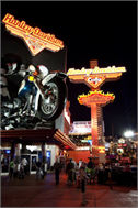 Sticker Deko Harley Davidson Bar