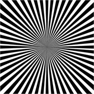 Sticker Déco Illusion Optique