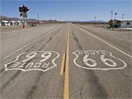 Sticker Déco Route 66