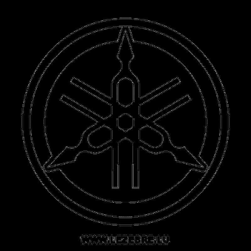 Yamaha new logo Decal 2