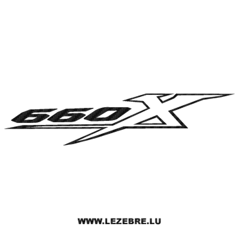Yamaha 660 XTX Carbon Decal