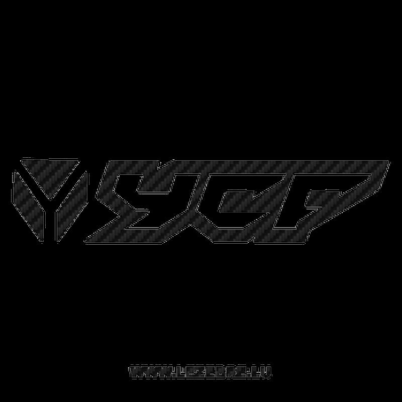 YCF logo Carbon Decal