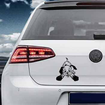 Dalmatian Dog Volkswagen MK Golf Decal