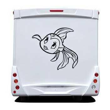 Sticker Wohnwagen/Wohnmobil Petit Fisch