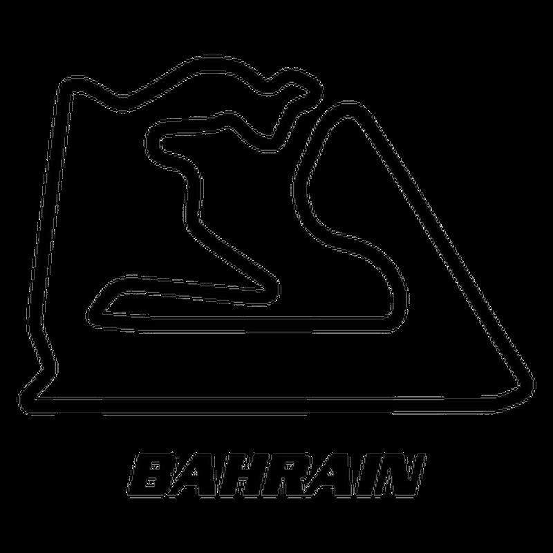 Sakhir Bahrain Circuit Decal 2