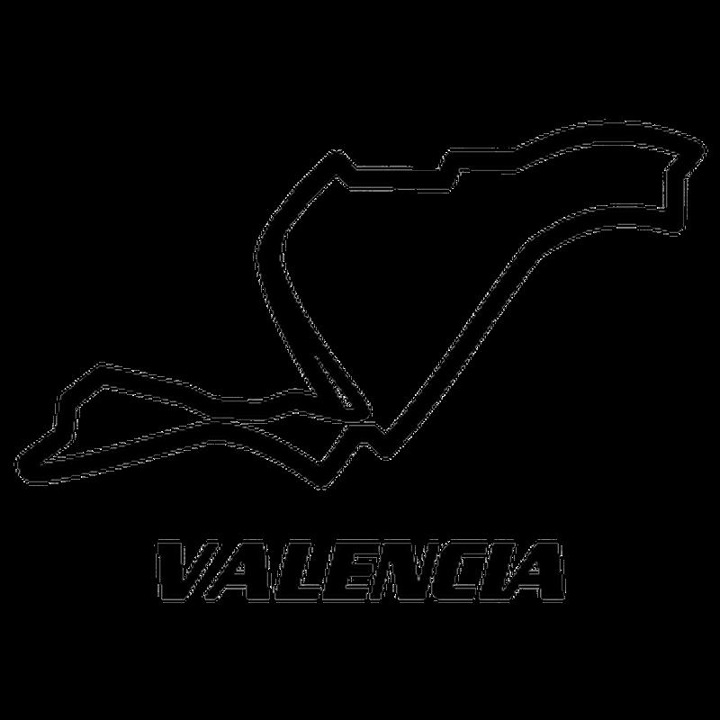 Valencia Street Europe Circuit Decal 2