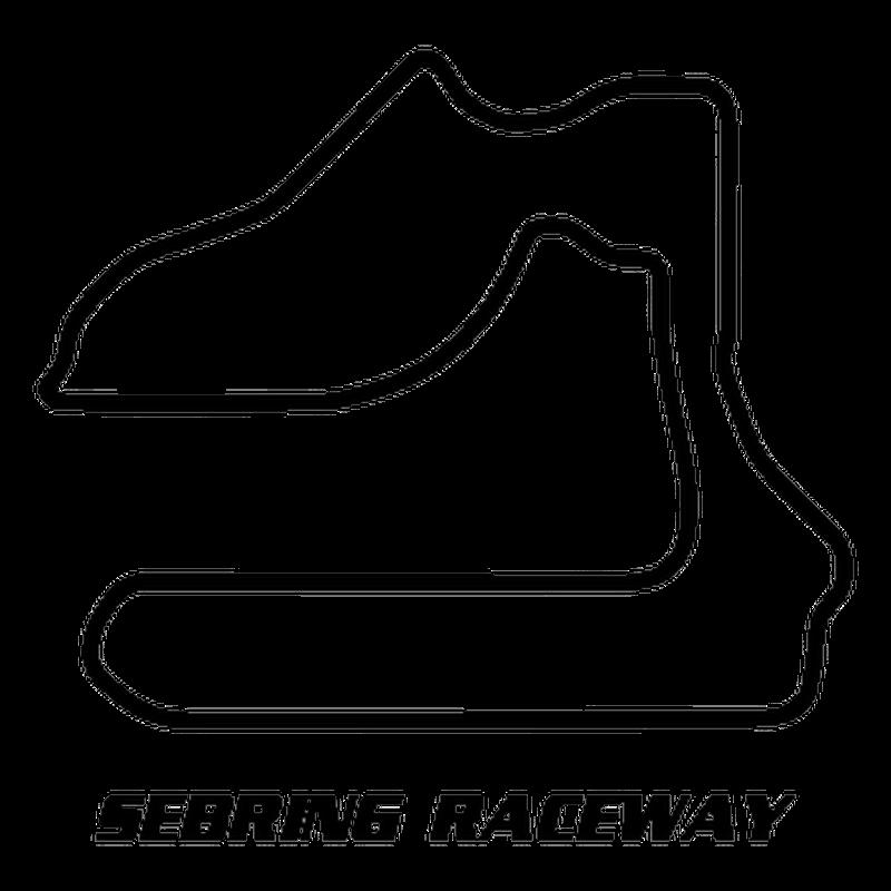 Sebring International Raceway USA Circuit Decal