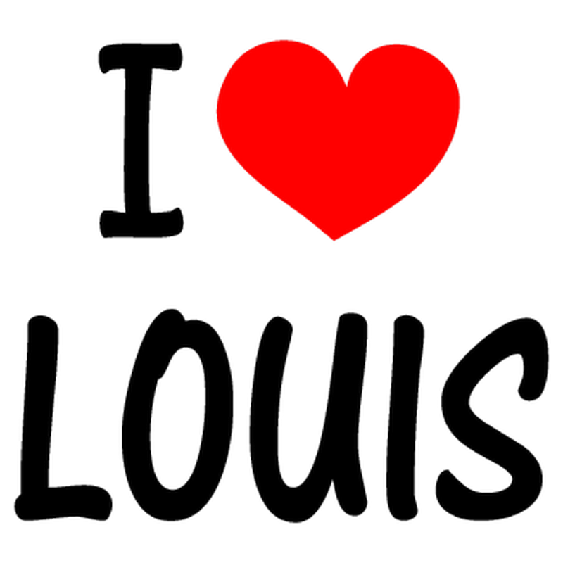 I Love LOUIS (One Direction) T-shirt