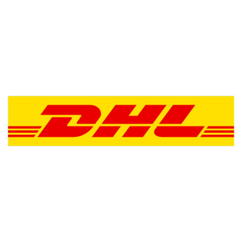 DHL logo Decal