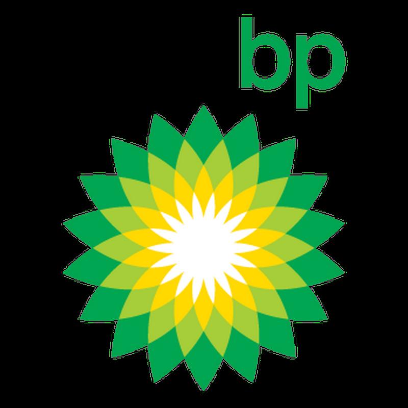 BP new logo colors Decal