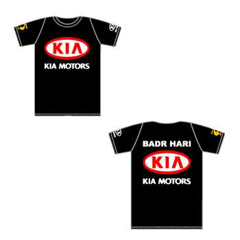 T-shirt K-1 Badr Hari Kia Motors Mike's Gym