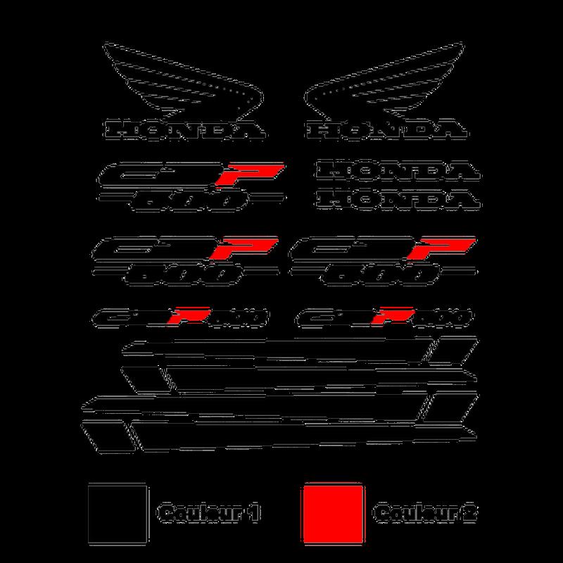 Honda Honda CBF 500 stickers set - in 2 colors