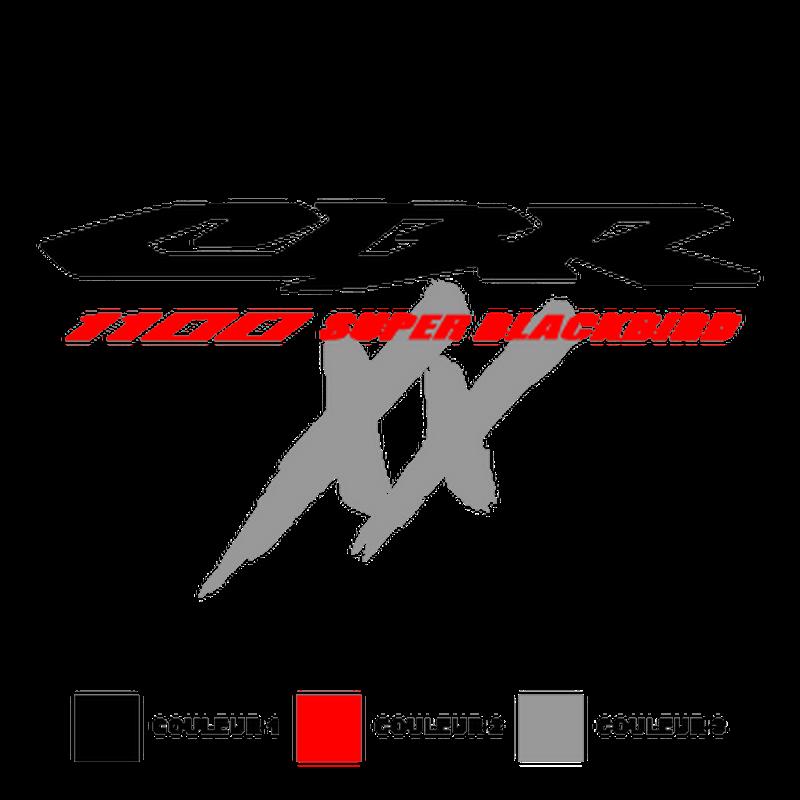 Honda CBR 1100 XX Super Blackbird logo Decal