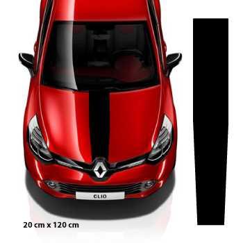 kit sticker bande universelle capot voiture 20 x 120 cm. Black Bedroom Furniture Sets. Home Design Ideas