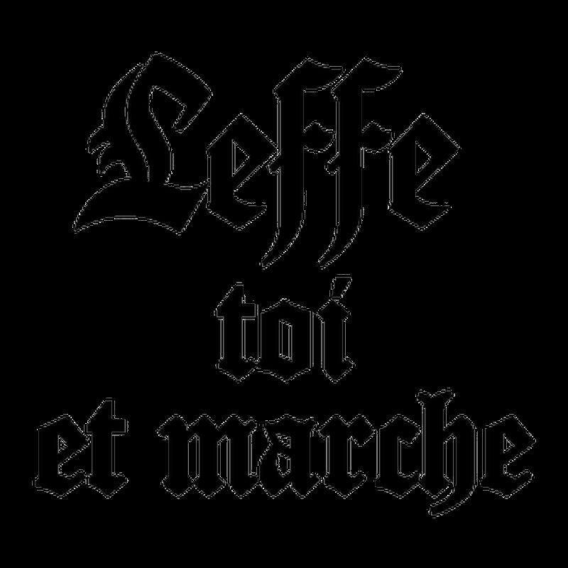 T-shirt Leffe Toi et Marche parodie Abbaye de Leffe