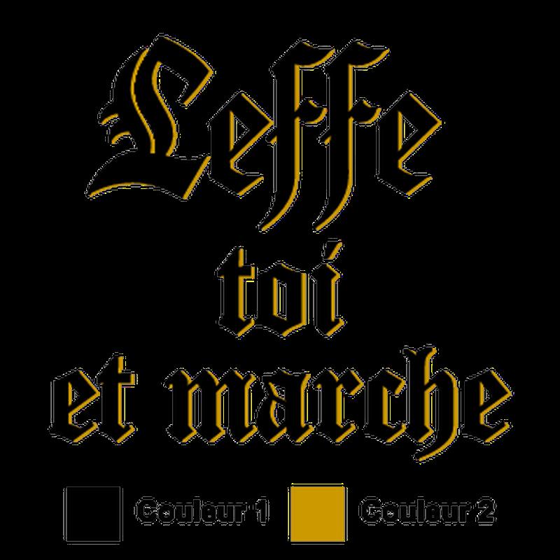 Leffe toi et marche parodie Abbaye de Leffe - 2nd model T-shirt