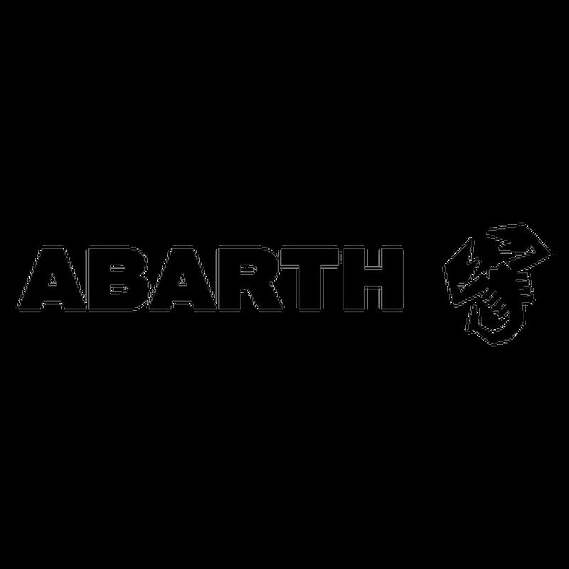 sticker fiat abarth scorpion droite logo. Black Bedroom Furniture Sets. Home Design Ideas