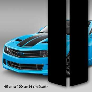 Vipe Rounded Car Hood Stripe Decal