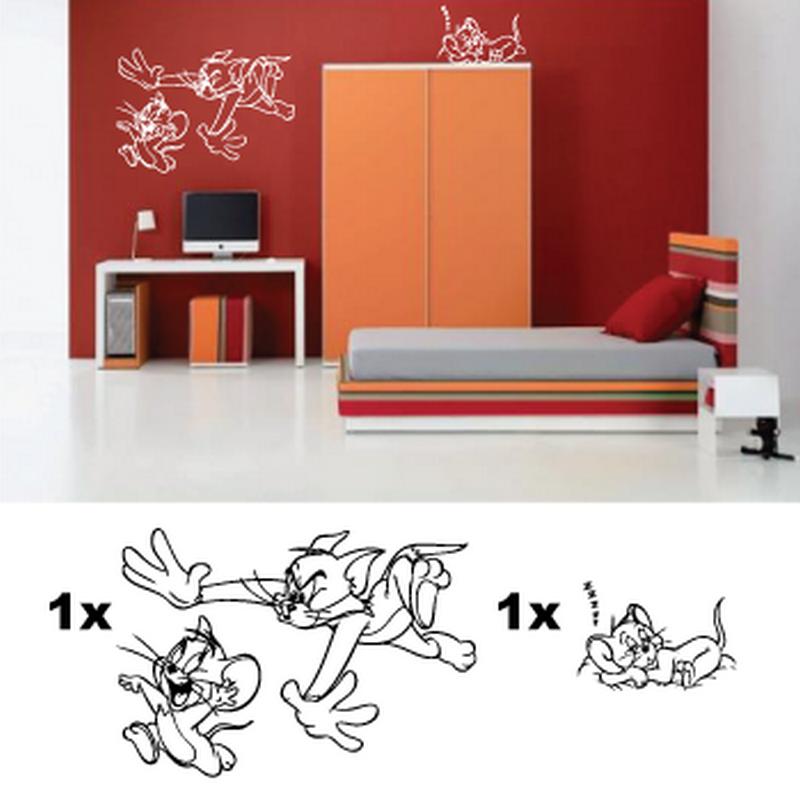 Kit Stickers Chambre Enfant Cartoon