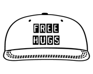 Casquette Free Hugs