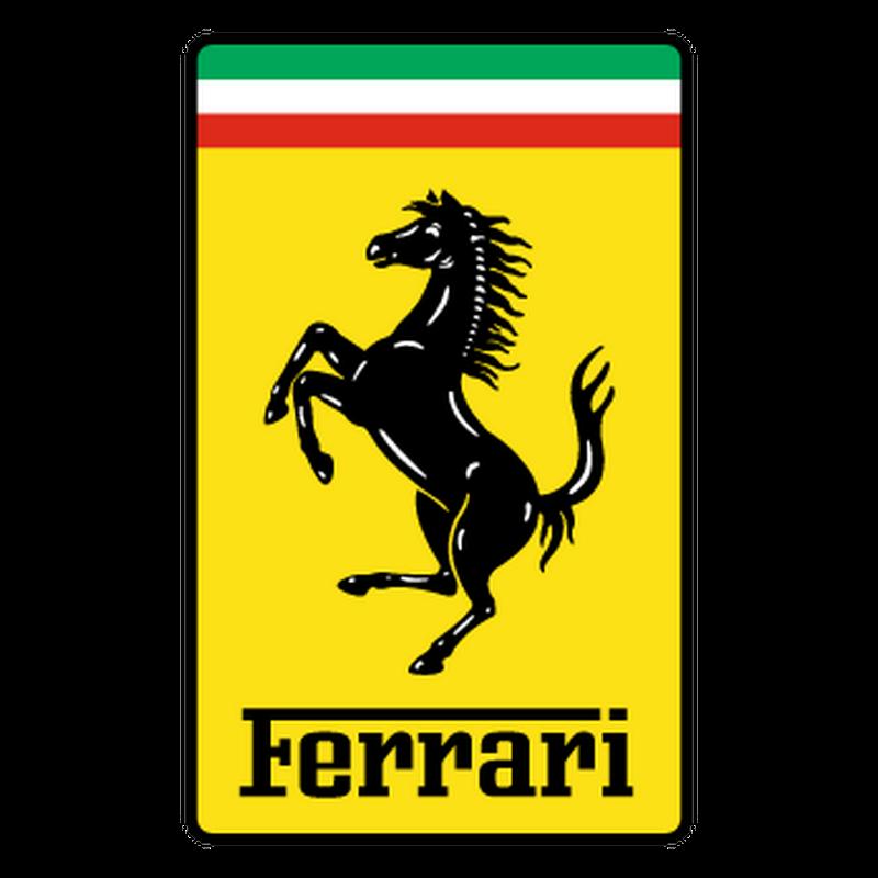 Ferrari logo 2013 decorative Decal