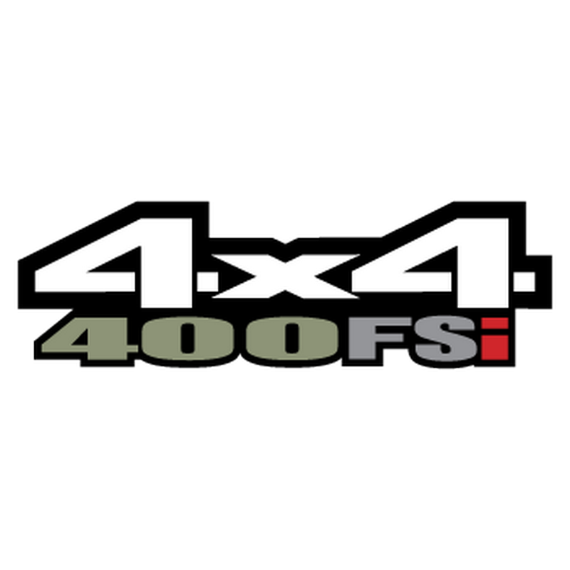 Sticker Suzuki King Quad 400 AFi 4x4 Logo 2013