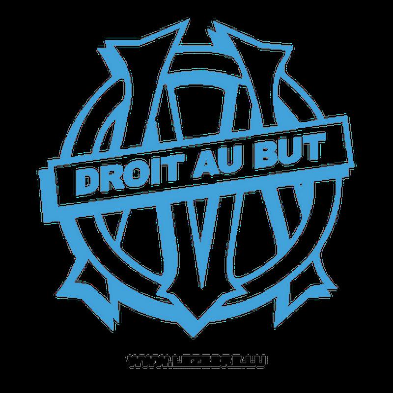 Om Droit Au But Decal