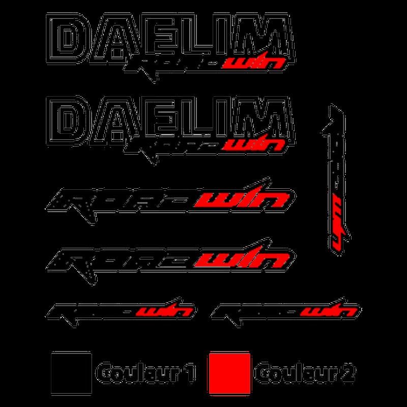 Daelim Roadwin Logos decals set