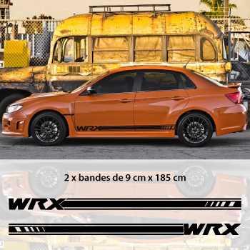 Subaru WRX STI 2013 car side stripes decals set